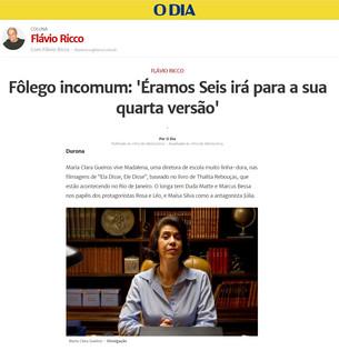 O Dia | Coluna Flávio Ricco
