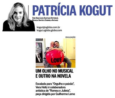 17-02-18 - O Globo - Kogut - Vera Holtz