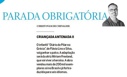 O Globo Parada Obrigatória 22.09