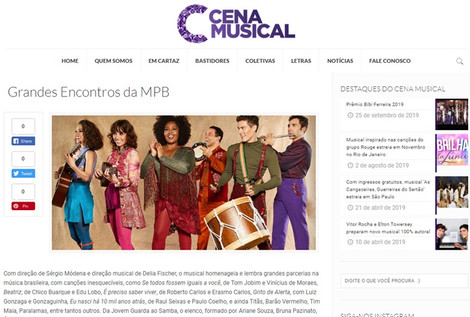 Blog Cena Musical