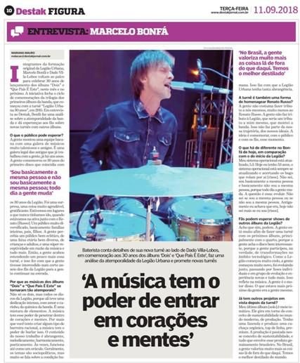Legião entrevista Marcelo Bonfá