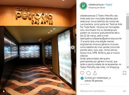 Vida de Carioca Instagram
