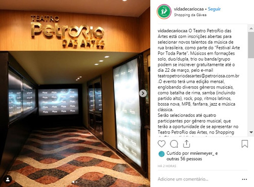 Vida de Carioca | Instagram