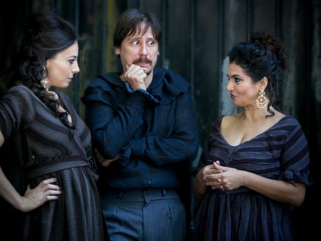 Gabriela Rosas, Paulo Hamilton e Ana Paula Secco