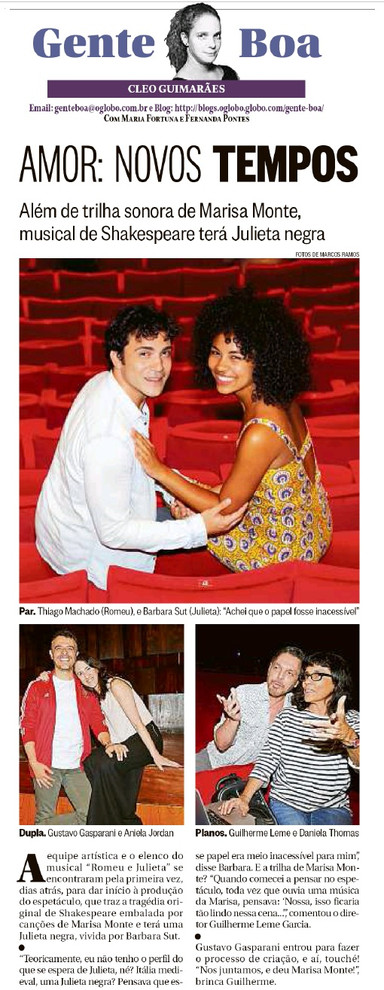08-01-2018 O Globo Gente Boa
