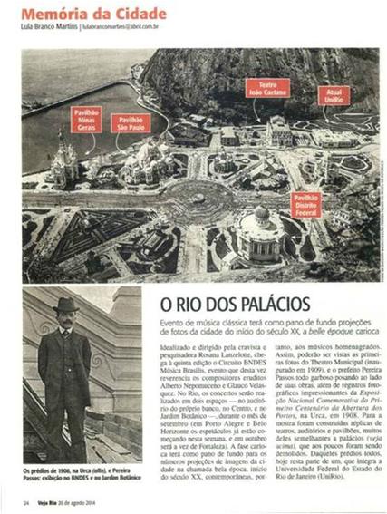 Veja Rio - Histórias Cariocas