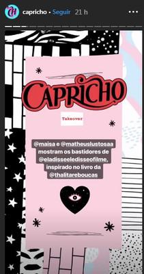 Capricho | Instagram - Stories