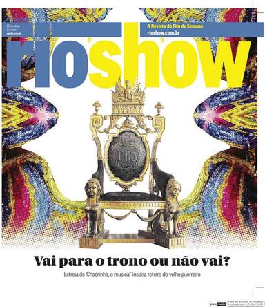 Chacrinha - Rio Show (O Globo)