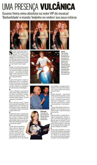 Barbaridade - Gente Boa (O Globo)
