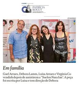 Coluna Patricia Kogut | O Globo