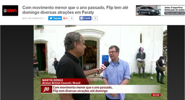 Globo News - Jornal das dez