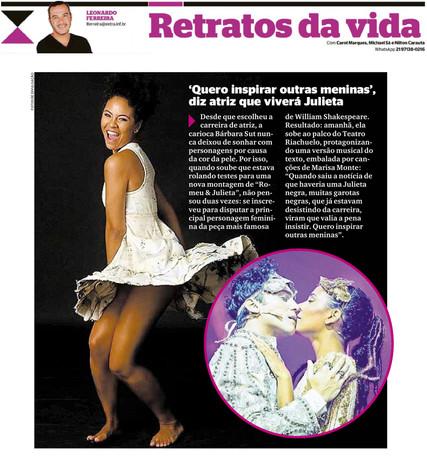 08-03-18 - Extra - Retratos - Nota Julie