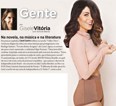 Revista Istoé - coluna Gente
