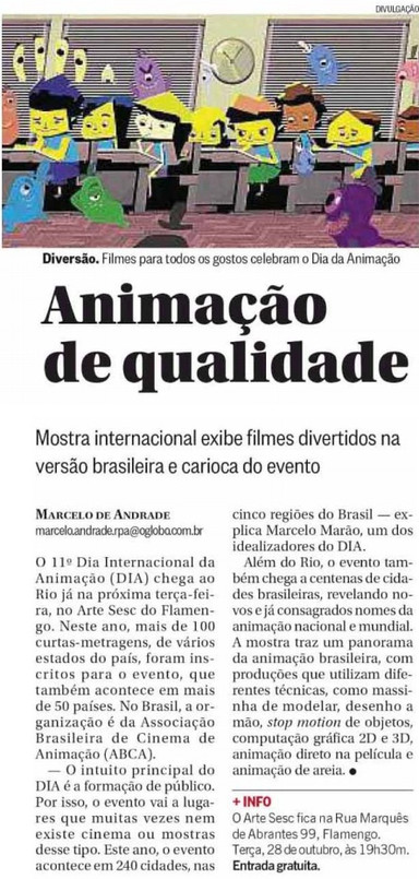 O Globo Zona Sul