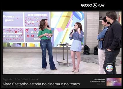 TV Globo - Encontro com Fátima Bernardes