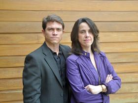 Roberto Bricio e Juliana Diniz