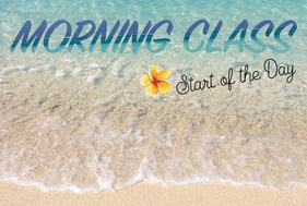 BEACH CLASS -morning-