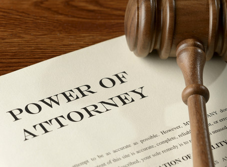 Continual Power of Attorney