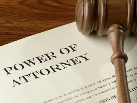 Power of Attorney's and Guardianships