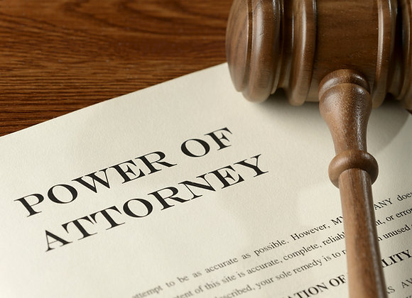 Help with Custom Durable Power of Attorney for Finances