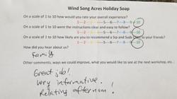 Soap Class Review