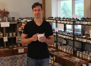 How we make our 100% Soy Wax Candles