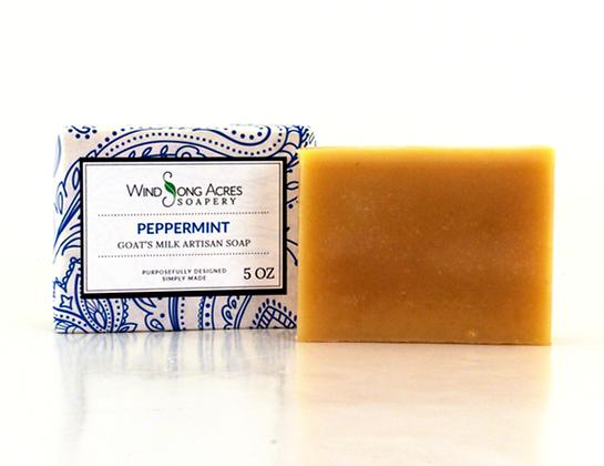 Peppermint Goat Milk