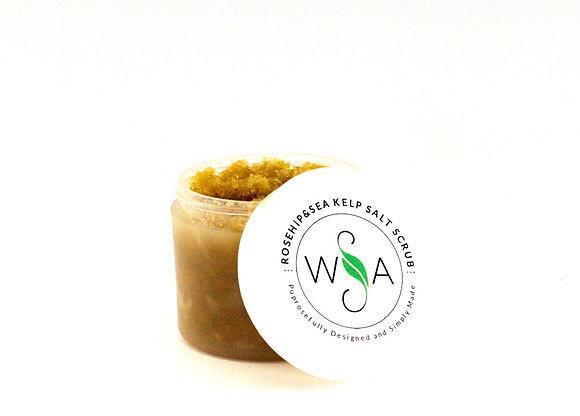 Rosehip and Sea Kelp Salt Scrub