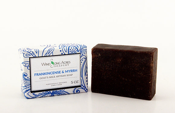 Frankincense &Myrrh (Goat Milk)
