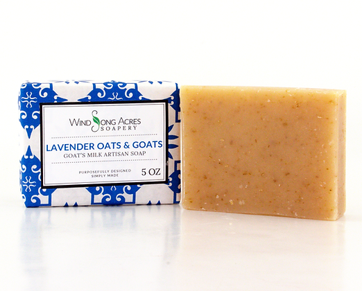 Lavender Oats and Goats