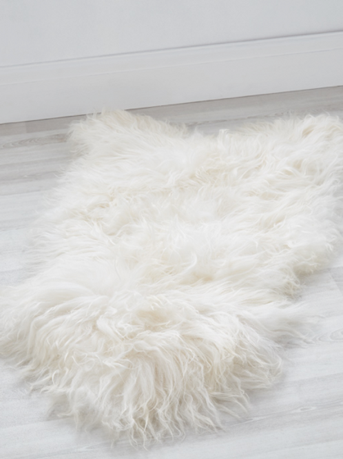 Cuddle Sheepskin - Cloud