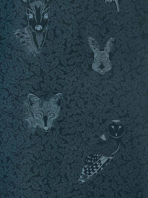 Forest, Dark Moss Wallpaper - 10m Roll