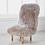 Thumbnail: Cuddle Sheepskin Chair & Stool - Warm Mink