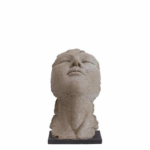 Price and Coco Interiors Face Figurine