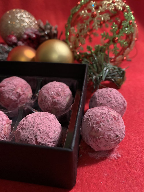 Chokoleti - Prossecco & White Chocolate Truffles