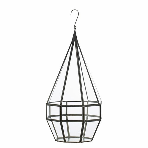 Price and Coco Interiors Large Iron Glass Lantern