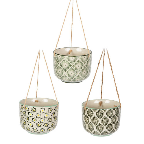 The Greenhouse Somerset Sass and Belle Ria hanging planter