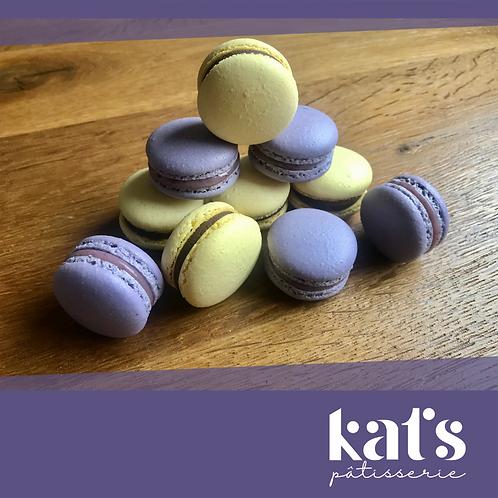 Kat's Pâtisserie Macarons box