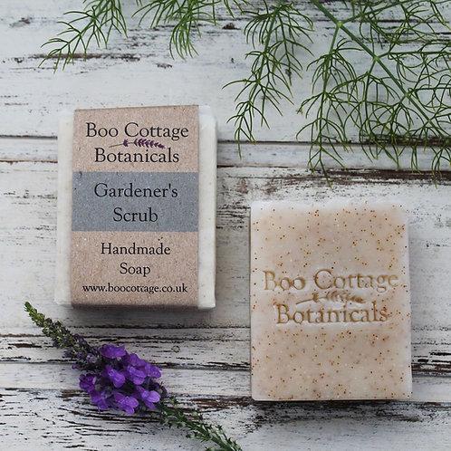 Boo Cottage Botanicals Gardener's Scrub Soap 100g
