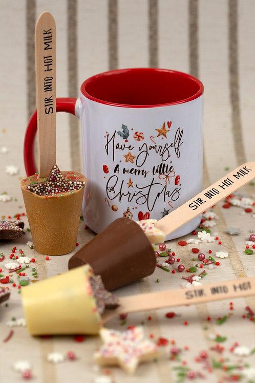 Chokoleti  -Christmas Hot Chocolate Stirers