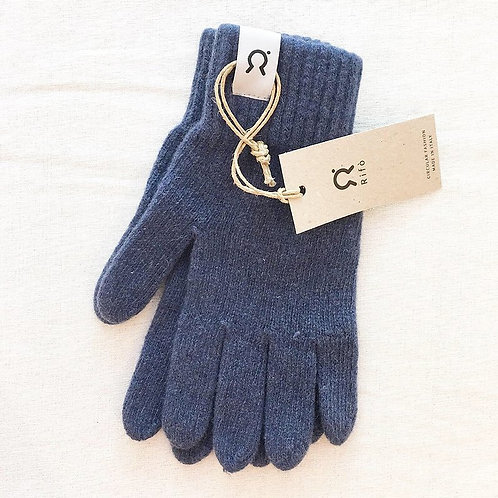 Olive & Rosy Recycled Cashmere Gloves