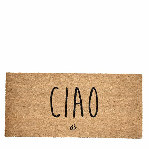 Price and Coco Interiors  'CIAO' Coconut Doormat  - Natural