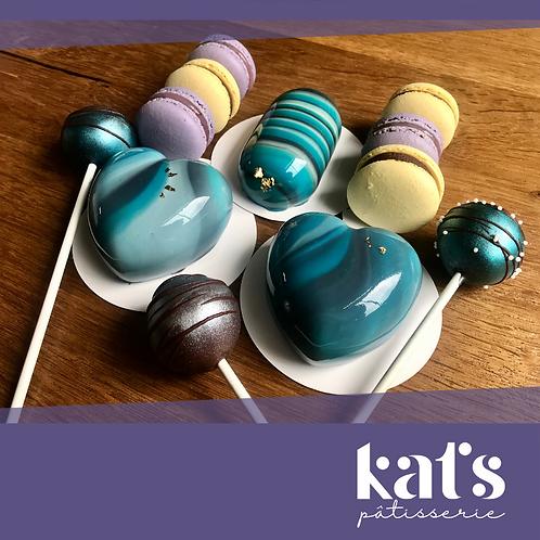 Kat's Pâtisserie Mousse Cakes Sweet Box