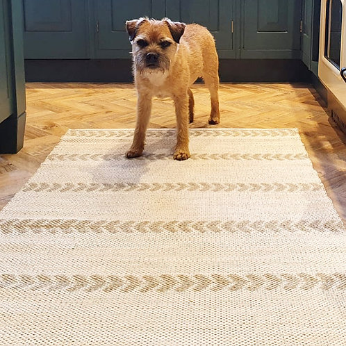 Price and Coco Interiors Natural Handmade Rug