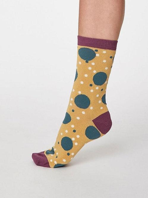 Olive & Rosy Bamboo Socks