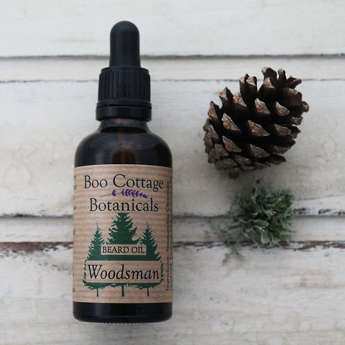 Boo Cottage Botanicals Woodsman Beard Oil (50mls)