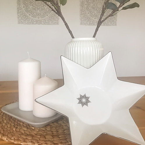 Price and Coco Interiors Nordic Star Serving Bowl