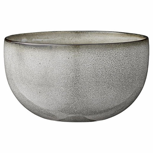 Price and Coco Interiors Large Handmade Grey Serving Bowl