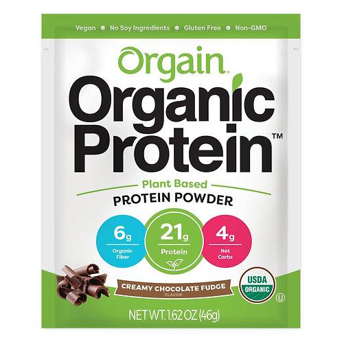 Orgain(オルゲイン)オーガニックプロテインパウダー チョコレートクリーミーファッジ 46g