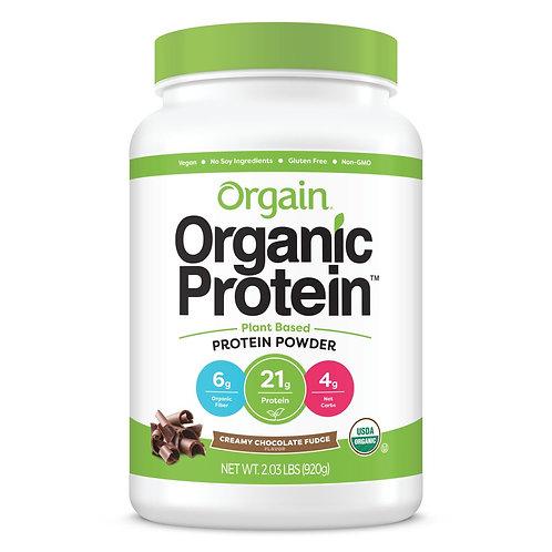Orgain(オルゲイン)オーガニックプロテインパウダー チョコレートクリーミーファッジ 920g